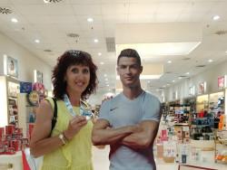 Роналдо поздрави Поля Велчева за сребърния й медал в Торино