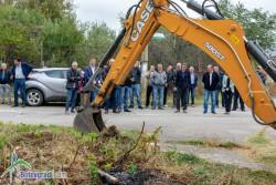 Положиха първа копка за подмяна на водопроводите в Литаково, Скравена и Новачене