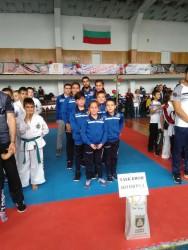 Състезателите на Таек-кион завоюваха 5 медала на турнир в Плевен