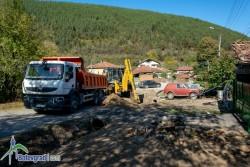 Изграждат 300 метра нов водопровод във Врачеш