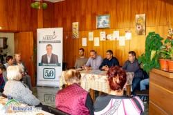 Село Гурково бе поредната спирка на кандидатите от ПП МИР