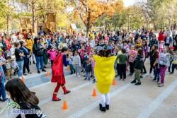 Стотици деца се забавляваха в обновената част на Градския парк
