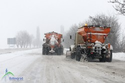 До 4 ноември приемат оферти за зимно поддържане на общинските пътища