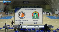 Лесна победа на Балкан в Пловдив