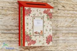 Пощенската кутия на Дядо Коледа очаква писмата на децата