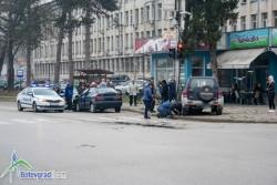 Катастрофа на светофара при болницата