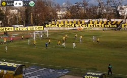 Футболистите завършиха полусезона със загуба в Перник
