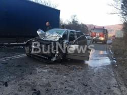 Отново жертва на пътя Ботевград- Мездра, катастрофа затвори движението