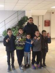 Най-малките от Сунг Ри Ботевград с 8 медала от Коледен турнир
