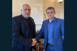 Премиерът Борисов се срещна с кмета на Ботевград Иван Гавалюгов