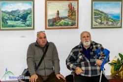Подредиха изложба с 42 платна на баща и син с едно име - Георги Паунов (Паунеца)