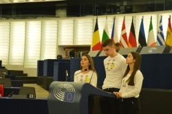 """Ученици от ПГПЧЕ """"Алеко Константинов"""", Правец - евродепутати в Страсбург"""