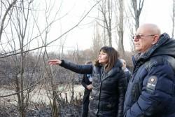 Министър Димитров посети Драгоманското блато