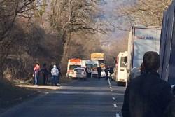 Катастрофа между Скравена и Новачене затвори Е-79