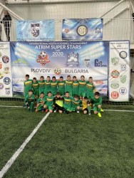 Малките футболисти на Балкан започнаха с победа и равен турнира в Пловдив