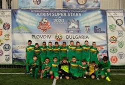 Момчетата на Балкан (р. 2008 г.) са осми на турнира в Пловдив