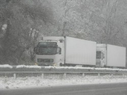 """Започва поетапно пускане на тежкотоварните камиони в посока Варна на АМ """"Хемус"""""""