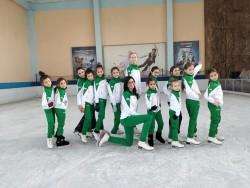 """Фигуристки на """"Балкан"""" участваха във втория кръг на държавния шампионат"""