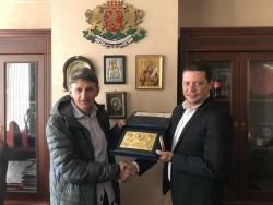 Петър Попангелов стана Заслужил гражданин на Софийска област