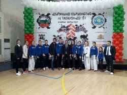 Състезателите на Клуб Таек - кион спечелиха 4 златни, 2 сребърни и 2 бронзови медала от Държавното първенство