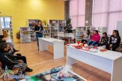 Творческа работилница за мартеници в градската библиотека