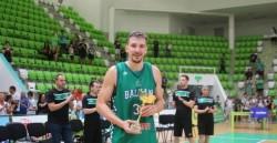 Митко Димитров е най-добър баскетболист на България за 2019 година