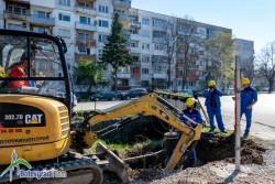 Довършват първи етап от подмяната на водопроводния пръстен в Ботевград