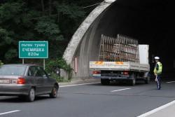 """Утре шофьорите да карат с повишено внимание в тунел """"Ечемишка"""" на АМ """"Хемус"""""""