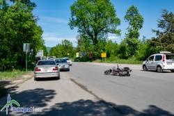 Моторист пострада при катастрофа /допълнена/