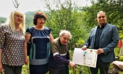 Последният ветеран от Втората световна война в Община Етрополе получи почетен медал