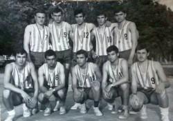 Половин век от първата шампионска титла, завоювана от отбора по баскетбол на Техникума