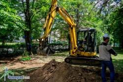 Започна ремонта на градския парк – етапи 3 и 4
