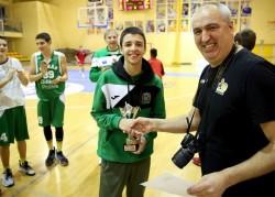 Александър Гавалюгов е MVP на сезона в Европейската младежка лига за момчета (U14)