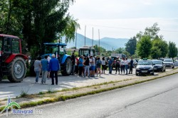 Земеделски производители излязоха на протест в Новачене