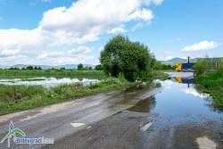 Изтичане на отпадни води е установено в района на старата пречиствателна станция