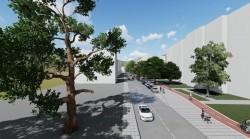 """Обществено обсъждане на идеен проект """"Уширяване на пешеходната алея и изграждане на велоалея по южната страна на бул. """"България"""", Ботевград"""""""
