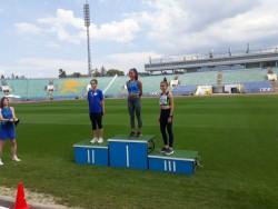 Михаела Гаврилова с медал и при по-големите