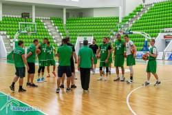 Балкан започна подготовка с българските играчи, американците се чакат по-късно