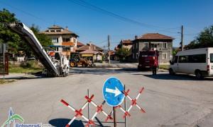 """Възстановяват асфалтовата настилка по ул. """"Захари Стоянов"""""""