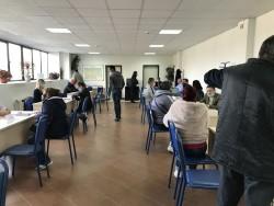 Работодатели и търсещи работа се срещнаха по време на трудовата борса в Бюро по труда - Ботевград