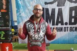 Николай Петров със сребърен медал от Граплинг турнира в София