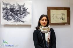 Художничката с ботевградски корени – Савина Мантовска, представя 40 графики в залата на Историческия музей