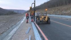 От днес се възстановява движението по участъка от Е-79 между Ребърково и Лютидол