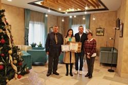 """Марина Дойнова с награда от Сдружение""""За Етрополе"""""""