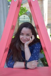 "Ботевградчанката Надя Тодорова  на стаж при носителя на ""Оскар"" Франк Спотниц"