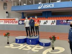 Николай Начев е вицешампион на България при мъжете
