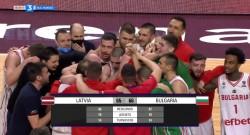 България е на европейско след победа над Латвия