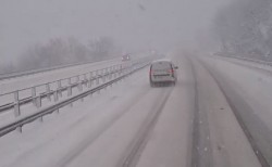 """АПИ: Възстановено е движението за Варна при 30-ти км на АМ """"Хемус"""""""
