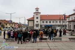 Жителите на Литаково протестират срещу затруднения достъп до Ботевград