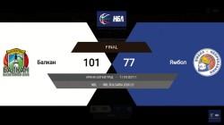 Победа на Балкан срещу Ямбол в последния  мач на зелените от редовния сезон